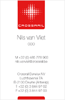 crossrail naamkaartje