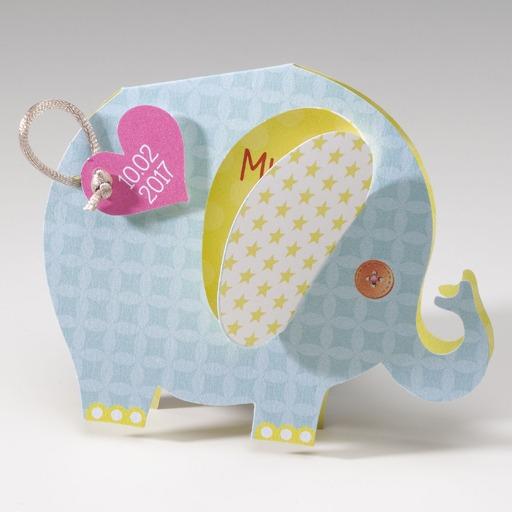 geboortekaartjes olifant