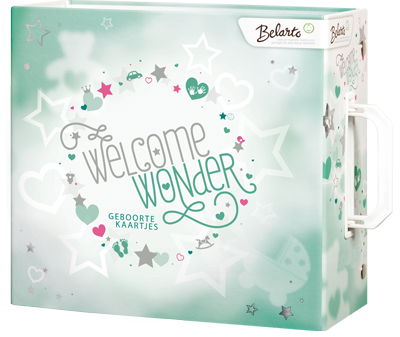 Welcome Wonder geboortekaartjes