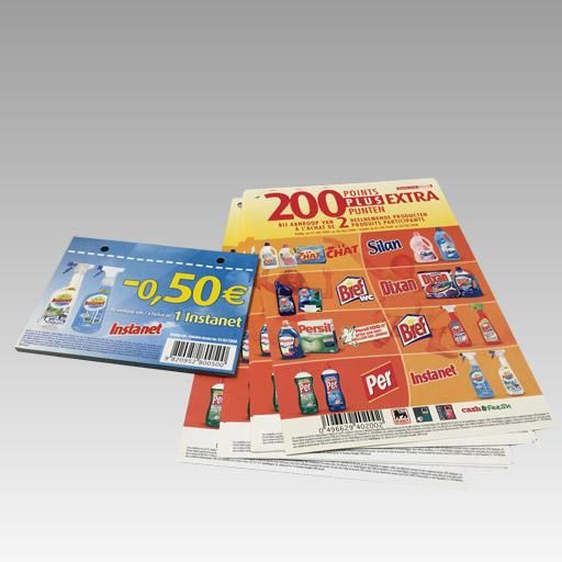 commercieel drukwerk promotiemateriaal